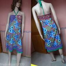 Robe Bain de soleil très féminine § sexy colorée dos nu sundress