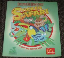 1991 Discover Rain Forest Book - McDonalds Happy Meal Giveaway #2