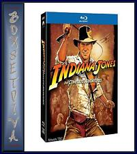 INDIANA JONES - COMPLETE COLLECTION  **BRAND NEW BLU-RAY ** REGION FREE **