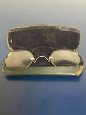 Pair Of Antique Glasses Spectacles In Case Opera Glasses Victorian Edwardian