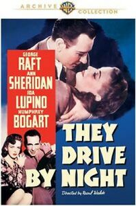 THEY DRIVE BY NIGHT (George Raft)  (DVD) UK compatible sealed
