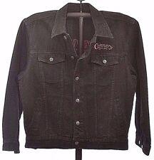 Cannery Casino Hotel Black Denim Jacket China XL