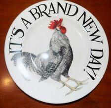 "emma bridgewater  rise & shine  brand new day 8.5"" plate   new"