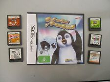 DS games CRAZY FROG RACER, ZUBO.2006 fifa world cup,backyard basketball & MORE