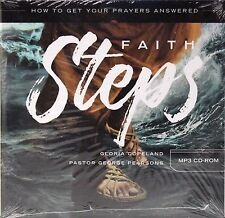 NEW! FAITH STEPS How to Get Your Prayers Answered (MP3 CD-ROM) Gloria Copeland