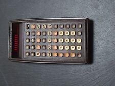 VINTAGE COMMODORE P-50 RED LED PROGRAMMABLE SCIENTIFIC CALCULATOR - RARE