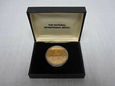 UNITED STATES MINT NATIONAL BICENTENNIAL MEDAL MINT IN CASE