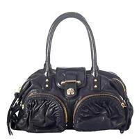 BOTKIER Bianca black leather medium satchel