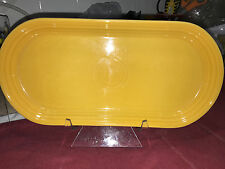 """Fiesta BREAD TRAY 12"""" x 6"""" Never used First quality - MARIGOLD"""