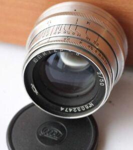 JUPITER-8 2/50 M39 soviet lens USSR Sonnar LEICA VERY GOOD+++