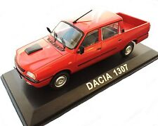 1/43  - DACIA 1307 ( = RENAULT 12 / R12 pick up ROUGE )  - DOUBLE CABINE