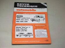 REVUE TECHNIQUE N° 437  -  MAZDA 323  & VISA SUPER GT &   HORIZON - 1983 *