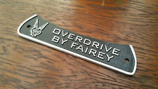 Cast Badge for Land Rover Defender Series 2 2a 3 Overdrive By Fairey