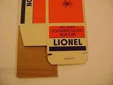 Lionel 6464-225 Southern Pacific Box Car Licensed Reproduction Box