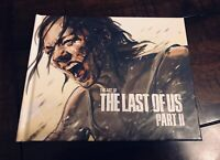 The Last Of Us Part II 2 Collector's Edition Art Book (NO GAME) Dark Horse Sony