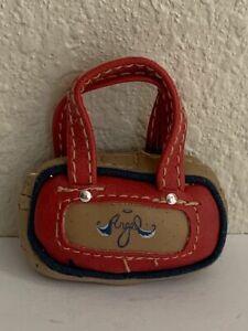 Bratz Girlz Girl Doll (Xpress It Cloe) Angel Bag Purse Handbag Red & Tan