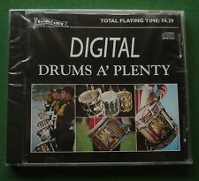 Digital Drums A' Plenty inc Fascinating Drums / Drumsticks for Two + New Mint CD