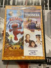 Adventures of Elmo in Grouchland/Thomas and the Magic Railroad - DVD - Sealed