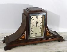 PERIOD 1930's ART DECO SKYSCRAPER MANTLE/TABLE TOP CLOCK by MANNING AND BOWMAN