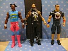 WWE MATTEL 3 INTERACTIVE TALKING WRESTLING FIGURES BRAY WYATT KOFI TOUGH TALKERS