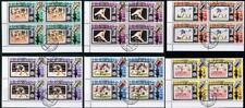 👉 RAS AL KHAIMA (UAE) 1972 MUNICH OLYMPIAD block of 4 CTO SPACE, FOOTBALL