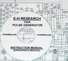 E-H Research Lab 123A Pulse Generator, Operating & Service Manual