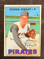 1967 Topps Dennis Ribant Card #527 NM Pittsburgh Pirates