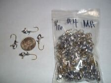 1/16oz #4 MINNOW HEAD LEAD HEAD JIG EAGLE CLAW - GOLD 100ct