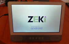 """Zeki TBDV986 9"""" Android 5.1 Quad-Core 8GB Tablet with DVD Player"""