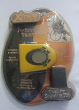 New In Package Xtreme Sports Pedometer Stopwatch Yellow Includes Armband