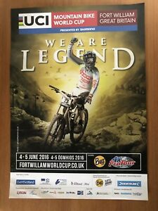 Mountain Bike World Cup, 2016, Fort William,  A4 Poster!