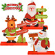 DIYSELF Gift Boutique 3 Christmas Table Decorations for Dinner Party Coffee Tabl