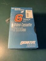 NEW Sealed Blank Signature 2000 VHS Video Tapes Cassettes Lot of 5 T-120SR