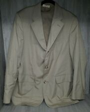 Brooks Brothers 1818 All-season Khaki 3 Button Suit Size 41R #23
