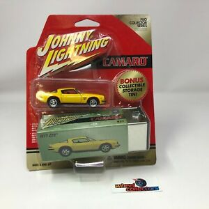 1977 Camaro Z28 * Johnny Lightning Pro Collector w/ storage TIN * NC22