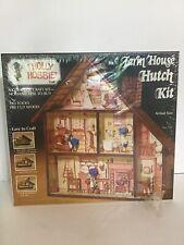 Holly Hobbie Crafts Farm House Hutch Kit No. 707 - New