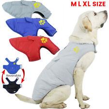 Waterproof Pet Dog Ski Vest Clothes Winter Warm Padded Coat Jacket Harness Vest
