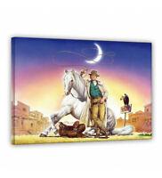 Leinwand - Lucky Luke - Terence Hill - Renato Casaro Edition