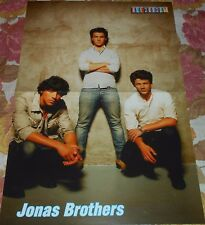 Jonas Brothers - Magazine A3 Poster