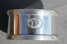 JOHN HOLT & COMPANY LIVERPOOL EARLY 1ST CLASS SILVER PLATE NAPKIN RING