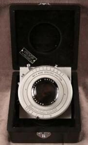 "Kodak Commercial Ektar 10"" f6.3 Lens & No. 4 ACME Synchro Shutter Just Serviced!"