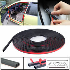 5m DIY Black B-Type Car Door Edge/Trim Rubber Seal Strip Wertherstrip Anti-Noise