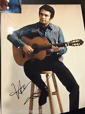Merle Haggard Autographed 11x14 signed inperson-
