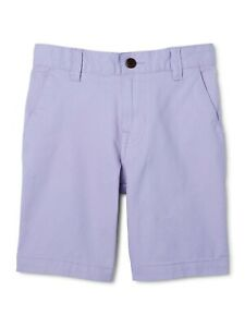 Wonder Nation Boys Flat Front Shorts Size 16 Purple School Uniform Approved NEW