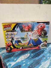Ricky Zoom Speed & Stunt Playset includes Ricky w/ Visor TOMY New In Box