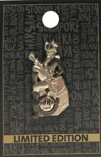 Hard Rock Cafe Philadelphia Pin Pirate Girl Bass Guitar 2018 LE New # 100326