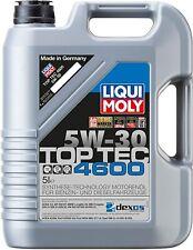 Liqui Moly 2316 Aceite de motor Top Tec 4600 5W30 garrafa de 5 l