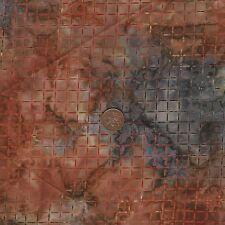 Tonga B9338 Rust Brown Batik 100 Cotton Fat Quarter