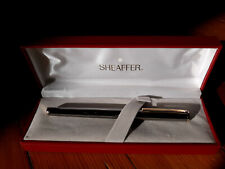 Sheaffer Fashion Fountain Pen in Gunmetal Finish with Gold Trim Fountain