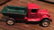 """Toy Dump Truck cast iron toy car. 1930's . 5-1/4"""" inch"""